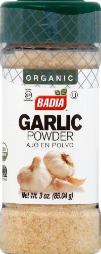 Badia Organic Garlic Powder Perspective: front