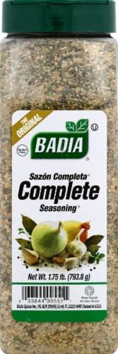 Badia Complete Seasoning Perspective: front