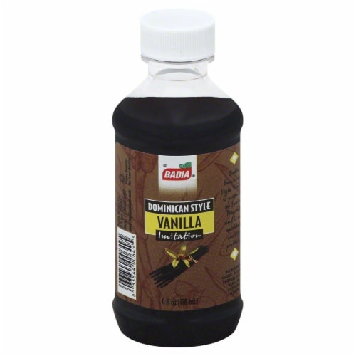 Badia Dominican Style Vanilla Extract Perspective: front