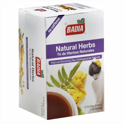 Badia Natural Herbs Tea Perspective: front