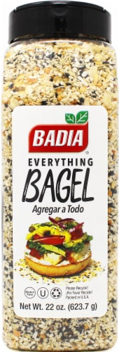 Badia Everything Bagel Seasoning Perspective: front