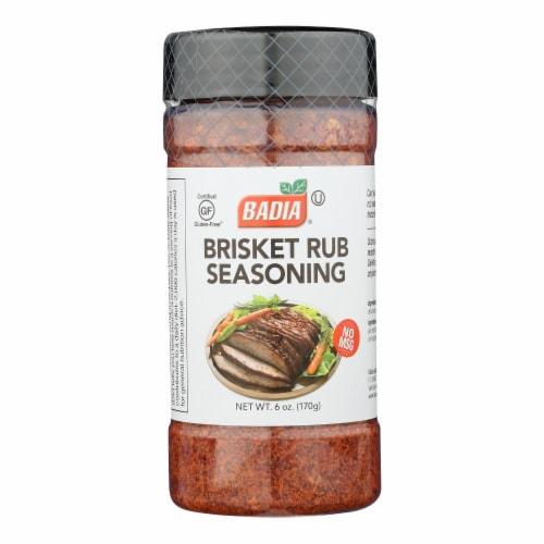 Badia Brisket Rub Seasoning  - Case of 6 - 6 OZ Perspective: front