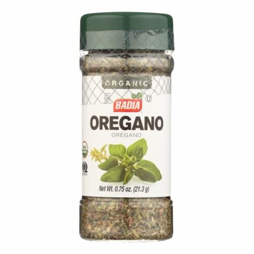 Badia Spices - Spice Oregano - Case of 8 - .75 OZ Perspective: front