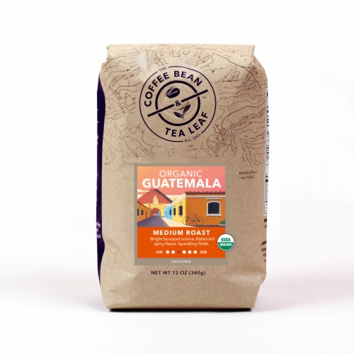 The Coffee Bean & Tea Leaf Organic Guatemala Ground Coffee Perspective: front