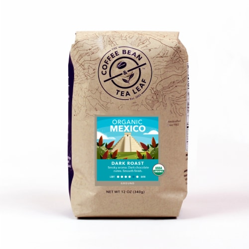 The Coffee Bean & Tea Leaf Organic Mexico Ground Coffee Perspective: front
