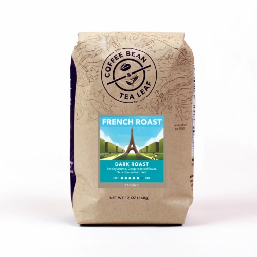 The Coffee Bean & Tea Leaf French Dark Roast Ground Coffee Perspective: front