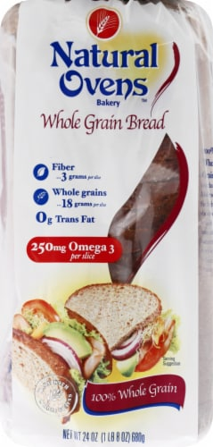 Natural Ovens Whole Grain Bread Perspective: front