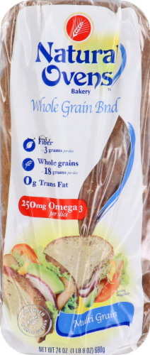 Natural Ovens Bread Multi-Grain Perspective: front