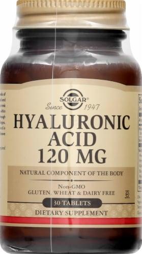 Solgar Hyaluronic Acid Tablets Perspective: front