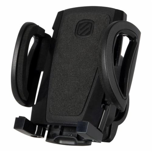 Scosche Handleit Handlebar Bike Mount Universal Mobile Device Holder - Black Perspective: front