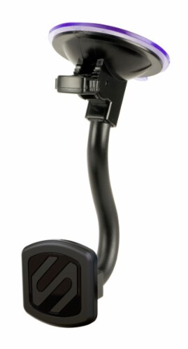 Scosche Magnetic Window Mount for Mobile Devices - Black Perspective: front