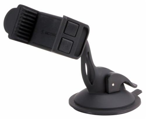 Scosche DashMount Universal Smartphone Mount - Black Perspective: front