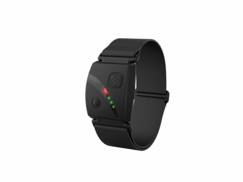 Scosche Rhythm24 Waterproof Armband Heart Rate Monitor - Black Perspective: front