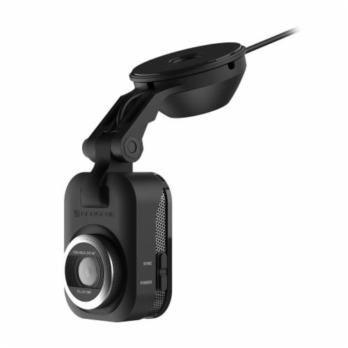Scosche Full HD Smart Dash Cam with Suction Cup Mount - Black Perspective: front