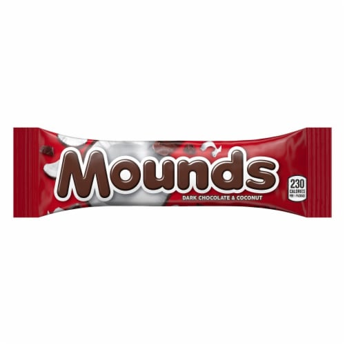 Mounds Dark Chocolate & Coconut Candy Bar Perspective: front