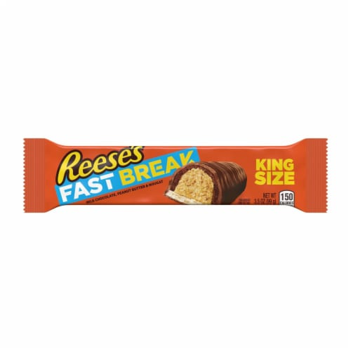 Reese's Fast Break King Size Candy Bar Perspective: front