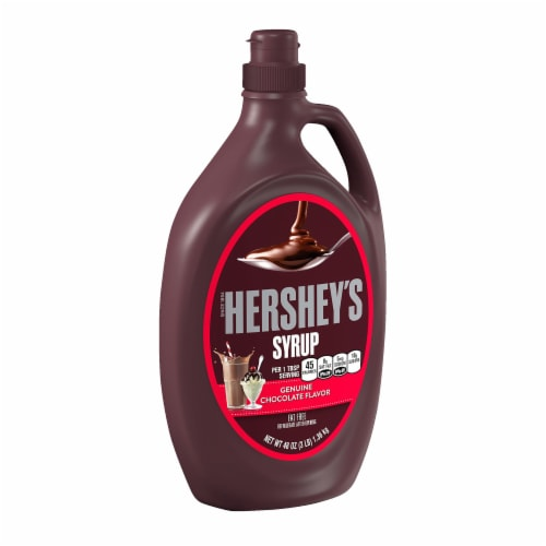 Hershey's Chocolate Syrup Perspective: front