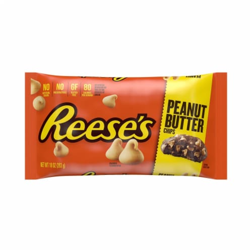 Reese's Peanut Butter Chips Perspective: front