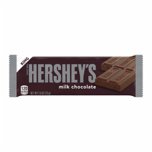 Hershey's King Size Milk Chocolate Bar Perspective: front