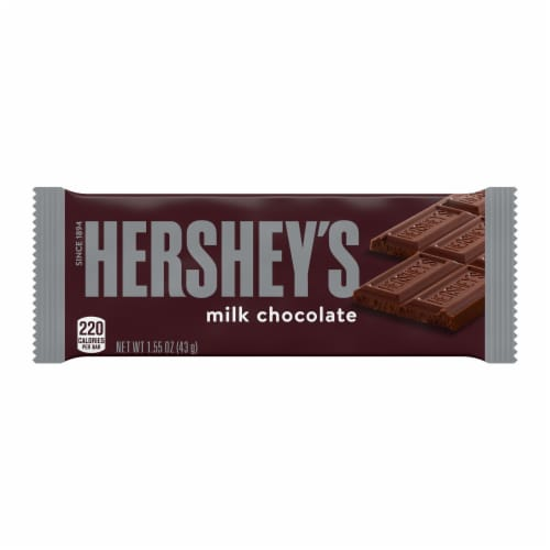 Hershey's Milk Chocolate Candy Bar Perspective: front