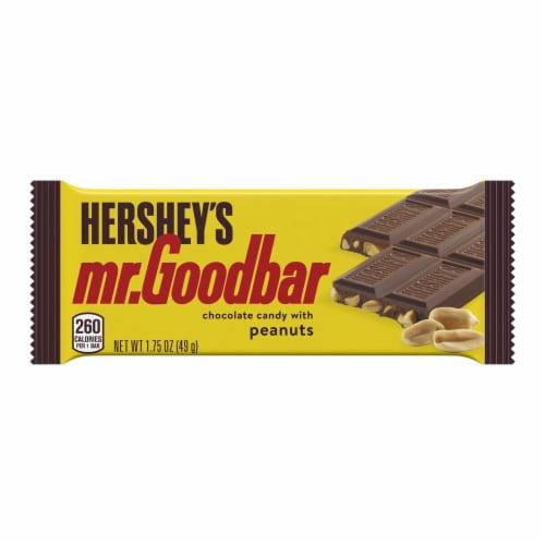 Mr. Goodbar Milk Chocolate Bar Perspective: front