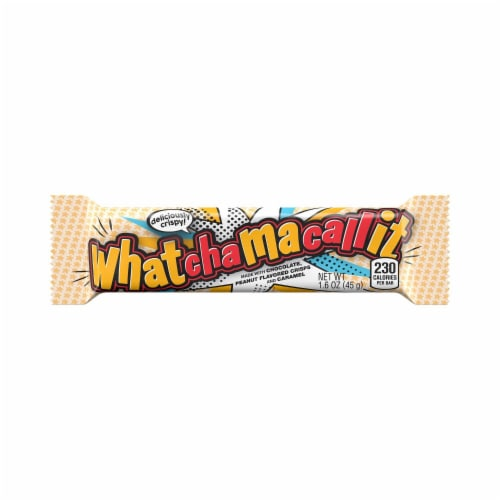 Whatchamacallit Candy Bar Perspective: front