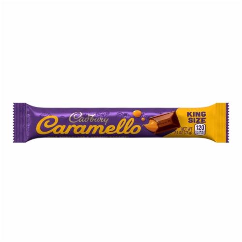 Cadbury King Size Caramello Chocolate Bar Perspective: front