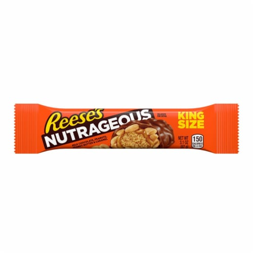 Reese's King Size Nutrageous Candy Bar Perspective: front