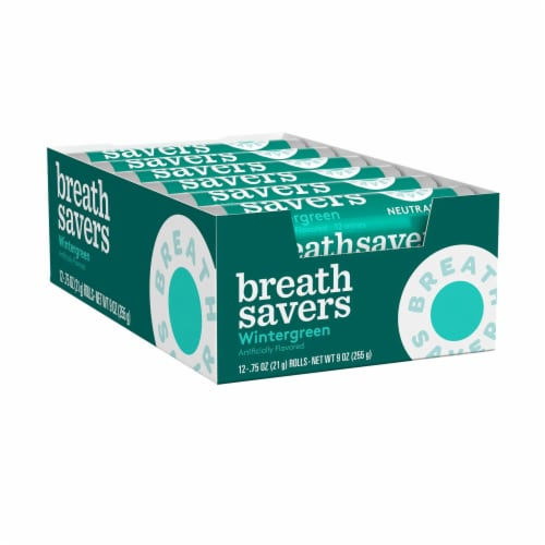 Breath Savers Wintergreen Mints Perspective: front