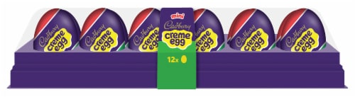 Cadbury Easter Mini Creme Egg Candy Perspective: front