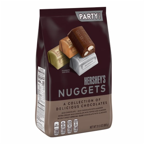 Hershey's Nuggets Chocolate Candy Assortment Party Pack Perspective: front