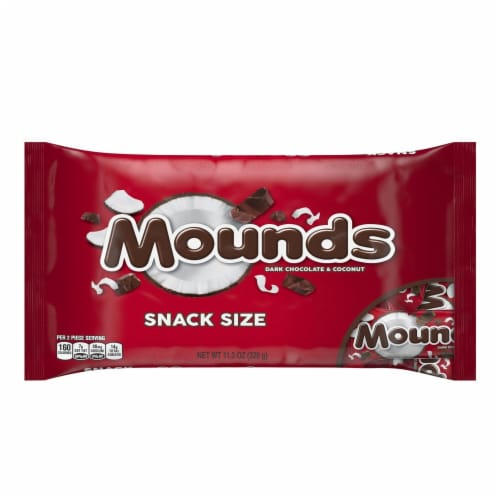 MOUNDS Snack Size Candy Bars Perspective: front