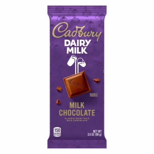 Cadbury Dairy Milk Chocolate Bar Perspective: front