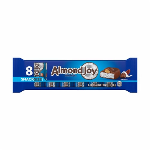 Almond Joy Snack Size Candy Bars Perspective: front