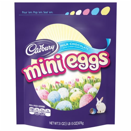 Cadbury Easter Milk Chocolate Mini Eggs Perspective: front