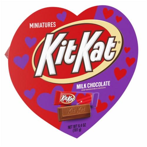 KIT KAT Valentine's Miniatures Heart Box Perspective: front