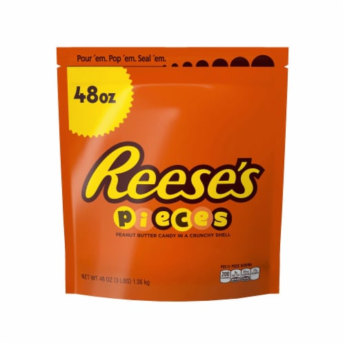 Reese's Pieces Candy Perspective: front