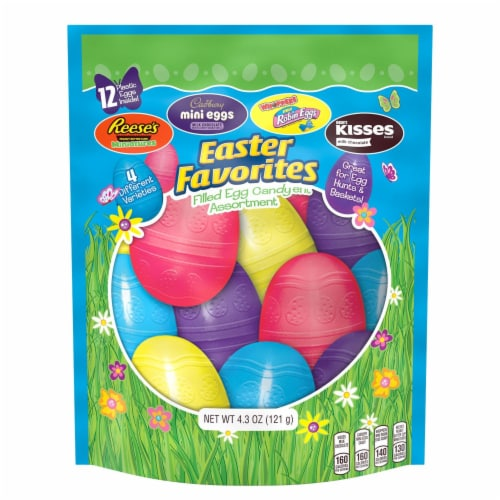 Hershey's Easter Favorites Filled Egg Assortment Perspective: front