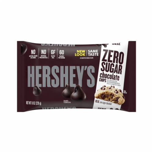 Hershey's Sugar Free Chocolate Chips Perspective: front