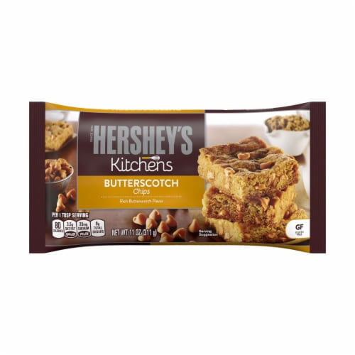 Hershey's Kitchens Butterscotch Chips Perspective: front