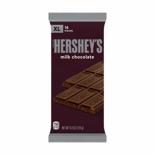 Hershey's Extra Large Milk Chocolate Bar Perspective: front