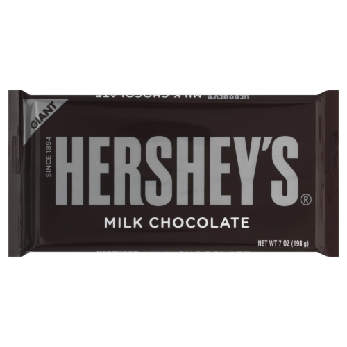 Hershey's Giant Milk Chocolate Bar Perspective: front