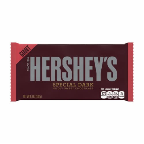 Hershey's Special Dark Mildly Sweet Chocolate Bar Perspective: front