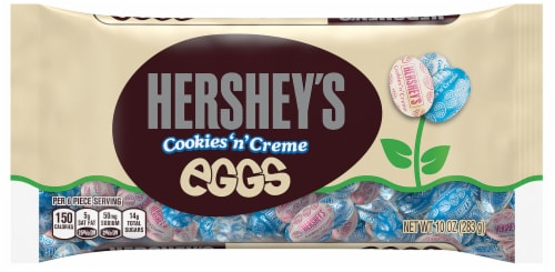 HERSHEY'S Easter Cookies 'n' Creme Eggs Perspective: front