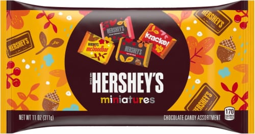 Hershey's Fall Harvest Miniatures Assortment Perspective: front