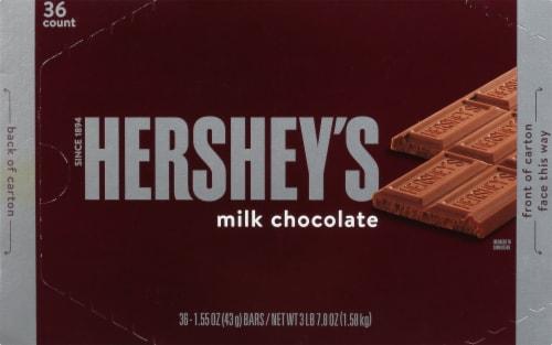 Hershey's Milk Chocolate Bar Perspective: front