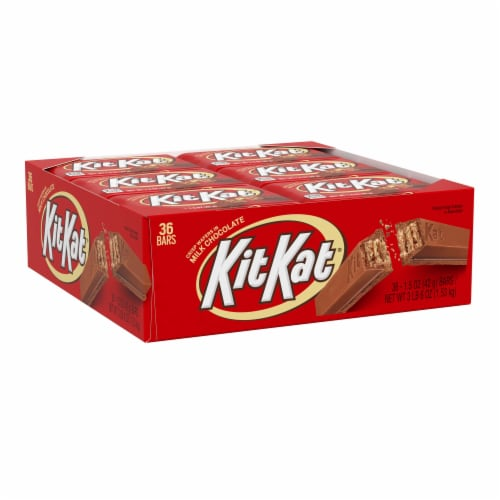 Kit Kat Milk Chocolate Wafers Perspective: front