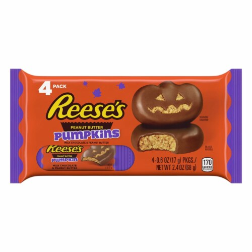 Reese's Peanut Butter Pumpkins Perspective: front