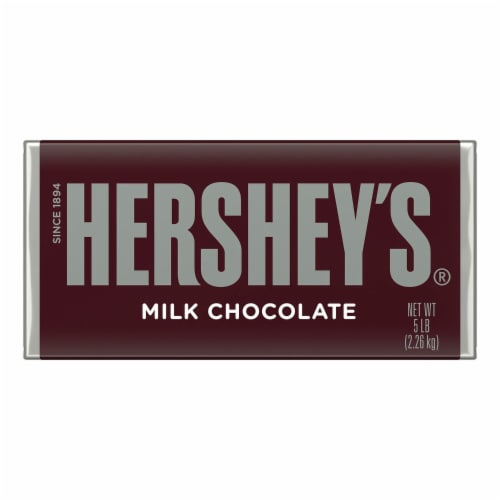 Hershey's Milk Chocolate Bar Perspective: front