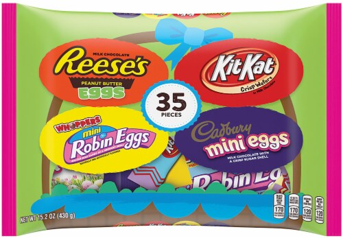 Hershey's Easter Assorted Chocolate Candy Perspective: front